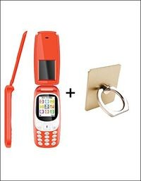 I Kall K3312 1.8 Inch Feature Phone - Red