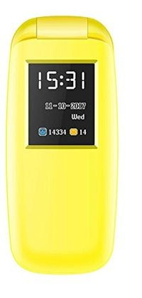 I Kall K3312 1.8 Inch Feature Phone - Yellow