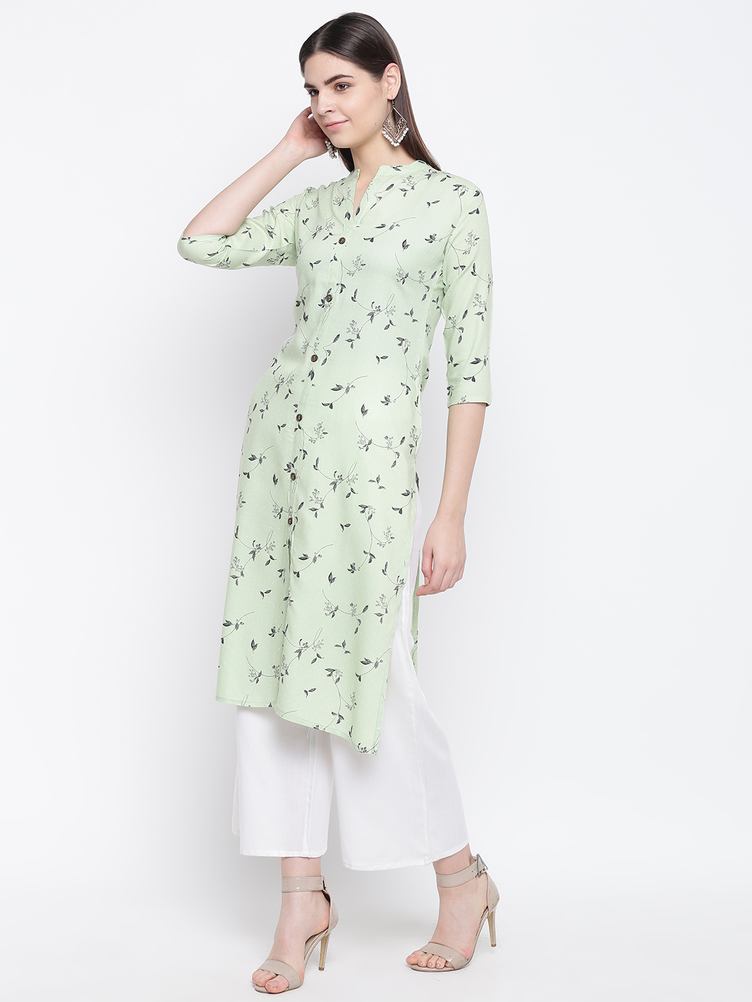 Stylum front buttoned Floral Print