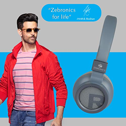 Zebronics Zeb-Bang Bluetooth Headphone with Voice Assistant