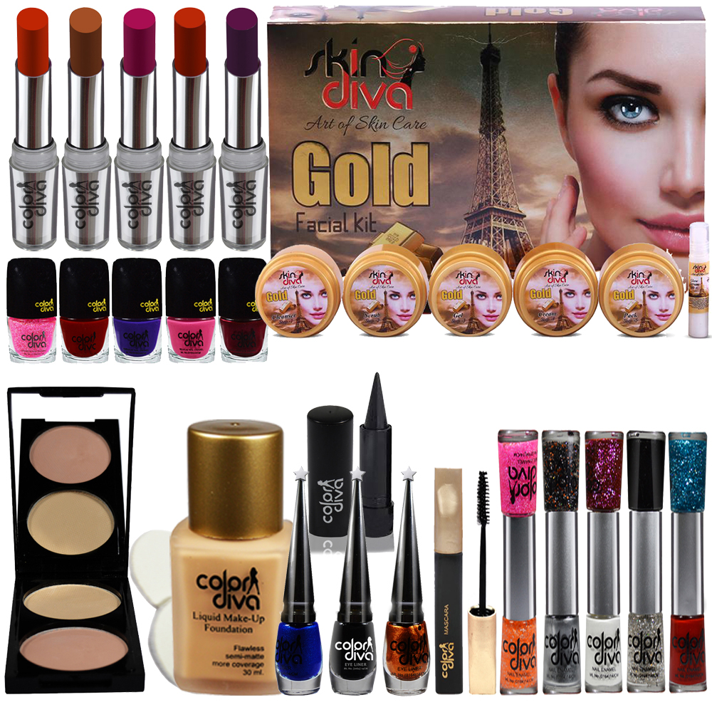 Adbeni Festive Speciality Big Pack Combo Makeup-Sets of 29 Pc-GC381A