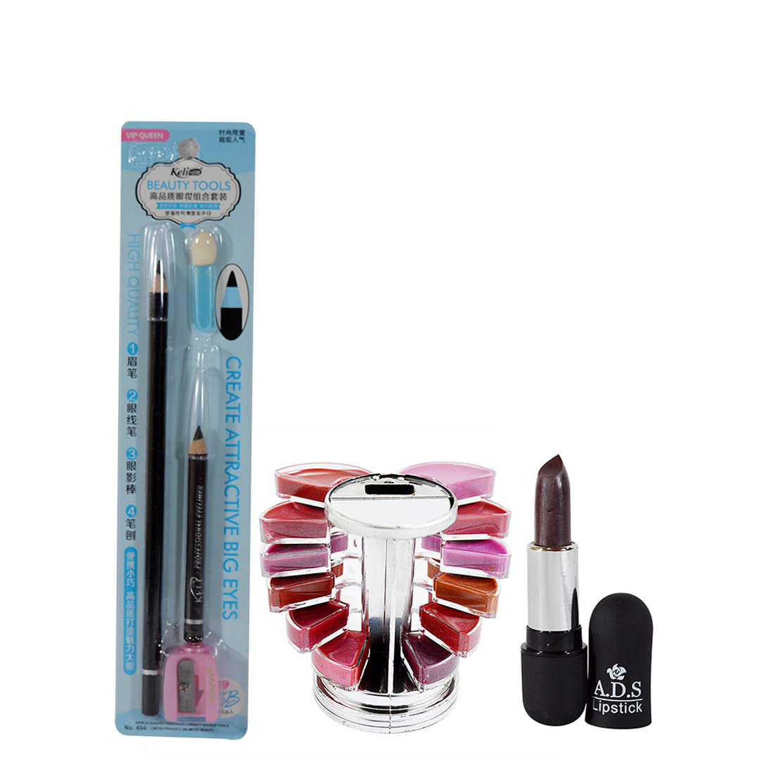 Adbeni Combo Make Up Set Pack Of 3- GC116