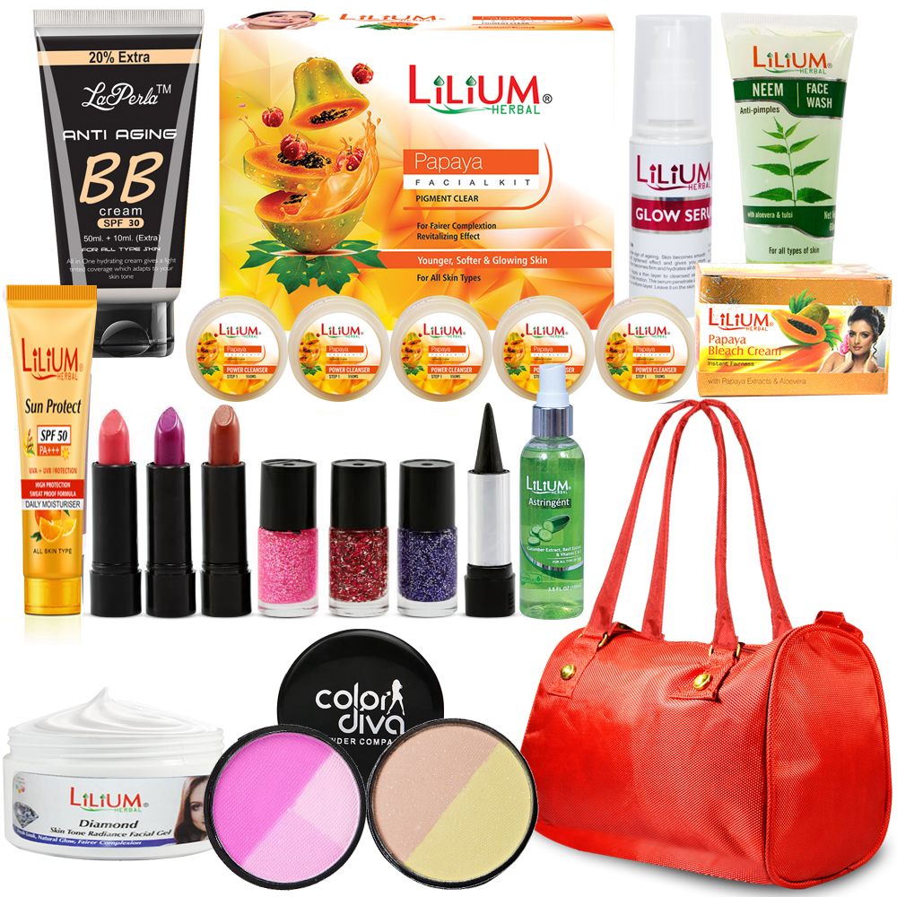 Adbeni NeemTulsi Facial Combo Makeup Set of 16 GCI600