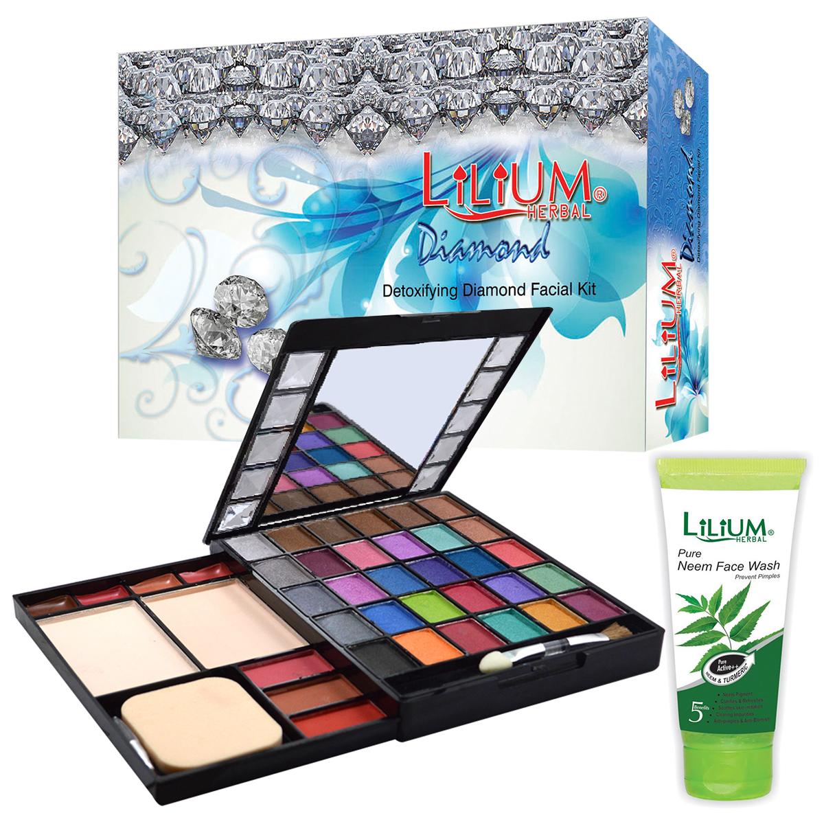 Lilium Diamond Facial Kit With Makeup Kit, GCI792