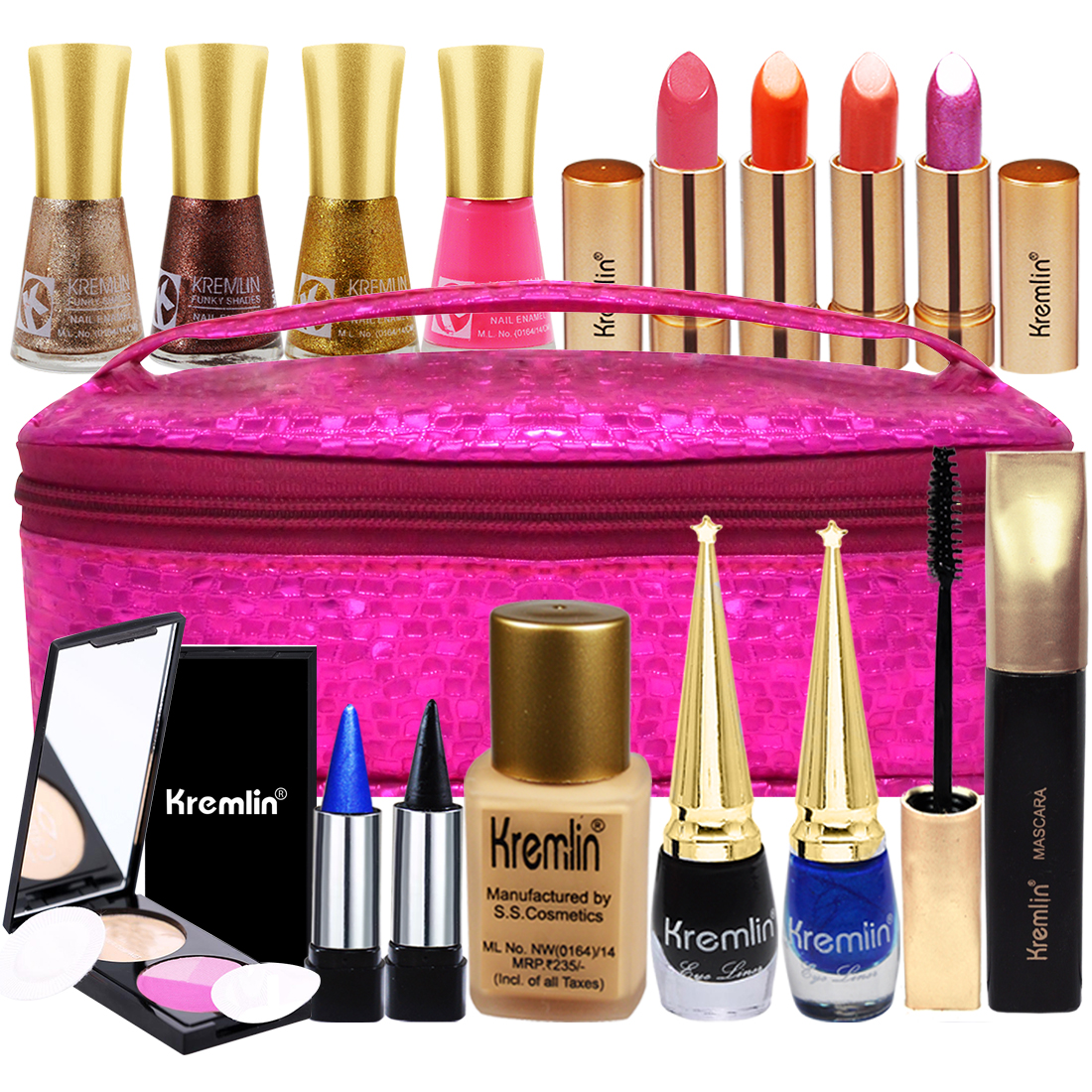 Adbeni All Time Favourite Kremlin Glamour Makeup Combo Set-A