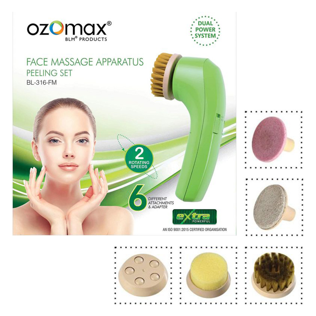 Skin Diva Pearl Facial Kit 80g & 5in1 Face Massager, Pack of 2, (GC864)