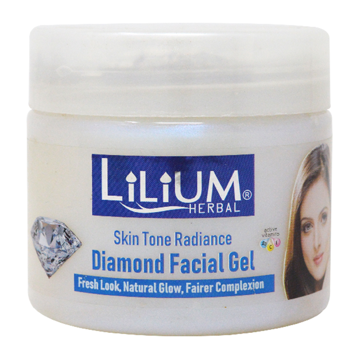 Lilium Diamond Facial Kit 800g With 5in1 Massager & Facial Band-GC1037
