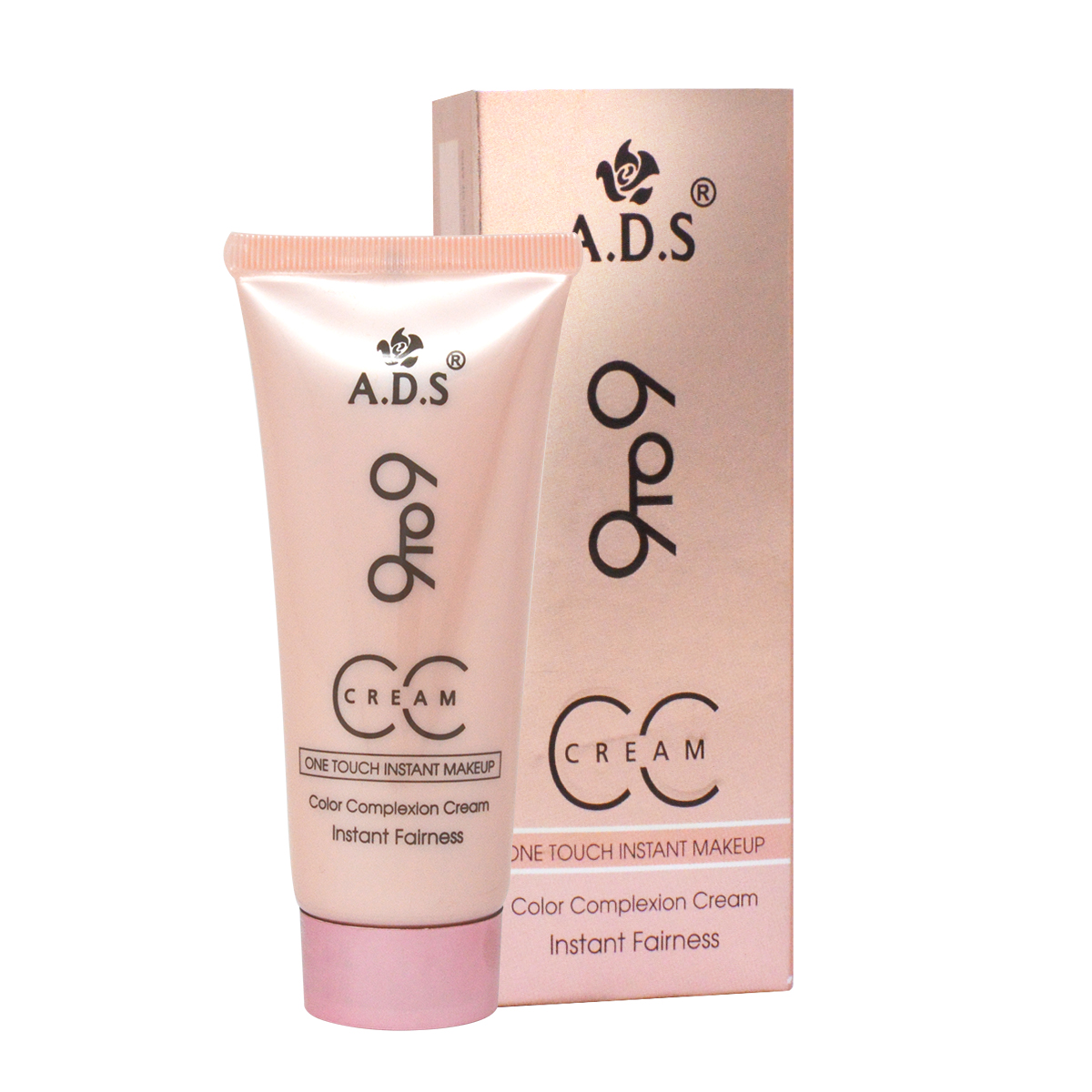 ADS Good Choice India 9 to 9 CC Cream 60g and 9 to 6 Scatch Eyeliner 1.2g With Red Lipstick 4.5g-GC1033