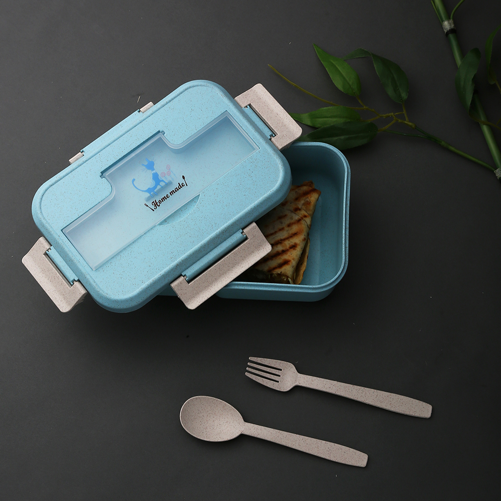Dennmarks Eco friendly lunch box designed for exclusively for kids (DNMK-LB-1119-057) - Blue