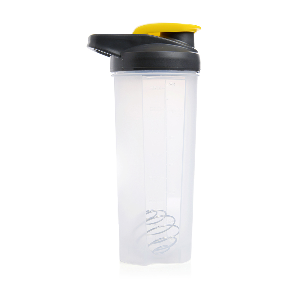 Dennmarks Gifts store Plastics Shaker Bottle/Protein Shaker/Sipper-Bottle/Gym-Bottle Yellow