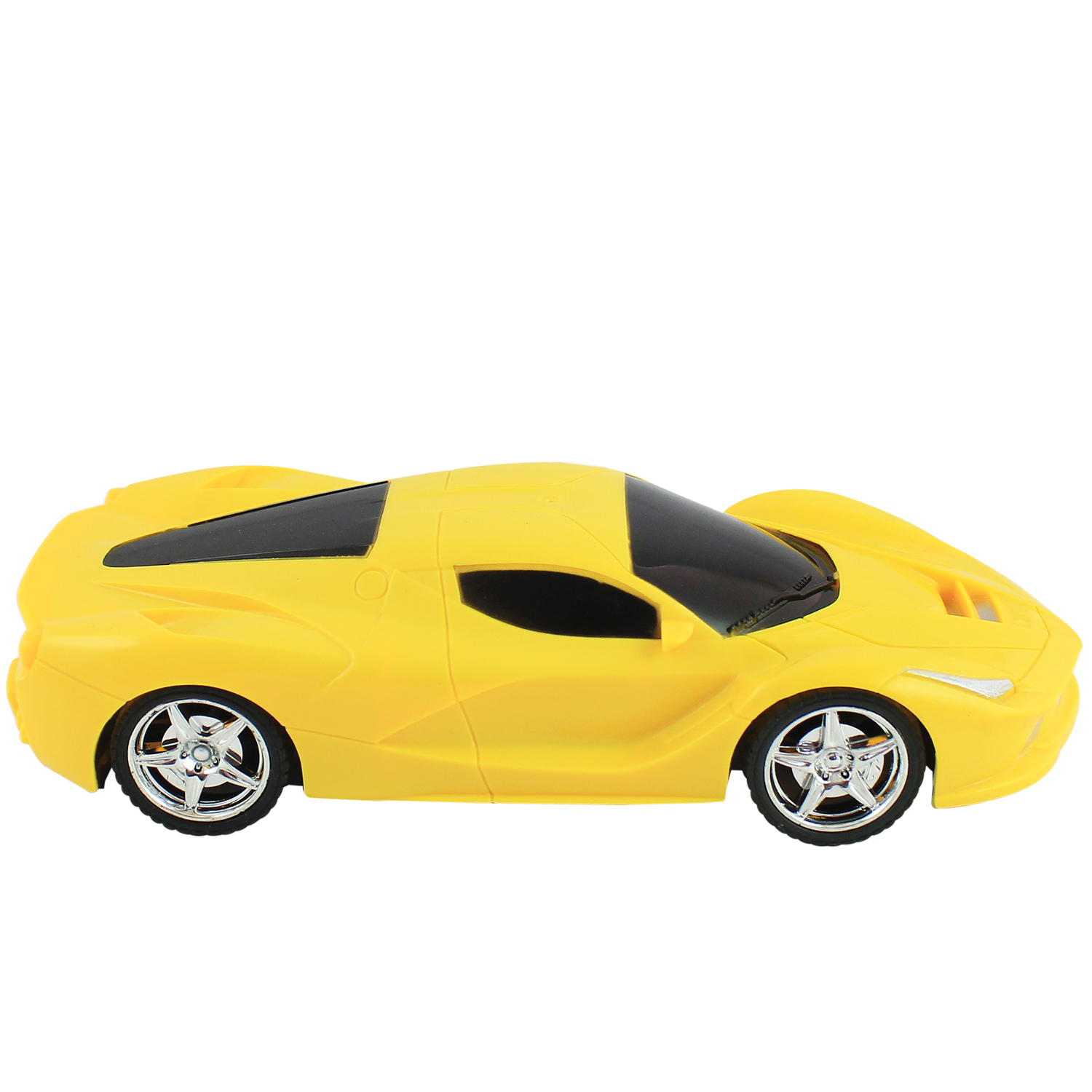 Annie Remote Control Car Four Way High Speed | Right Left Backward And Forward Direction | 22 Cms Length | Kids Best Gift | Yellow Colour | Battery Operated | Non-Toxic (Yellow)