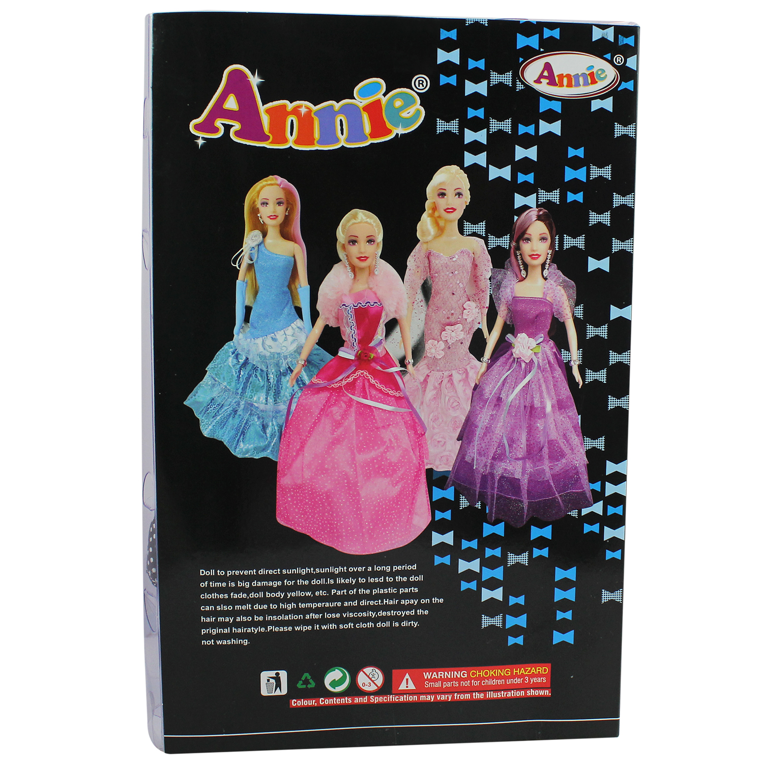Annie Fashion Style Beautiful With Extra Dress | Superb Doll | Party Style | Doll Size 30 Cms (11.8 Inches)