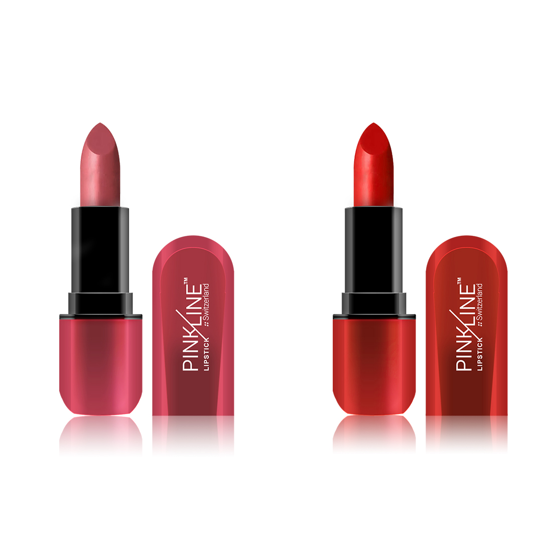 PINKLINE Matte Lipstick 7.6gm,PL1053-11-12 Lip And Juicy (Lip And Juicy, 46 g)