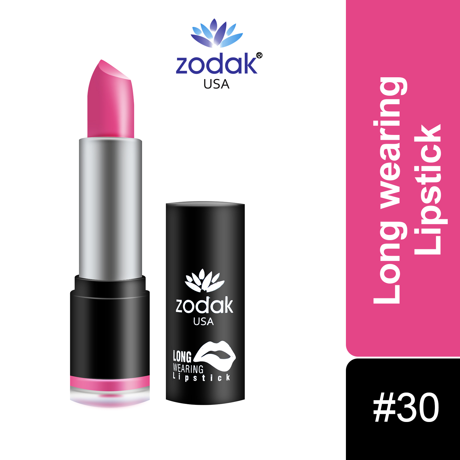 ZODAK Long Wearing Lipstick 3.8g (Tommorrow, 3.8 g)