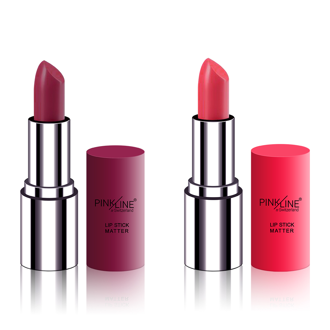 Pink Line MATTE Lipstick PL7002 Gurmess,Party 8g