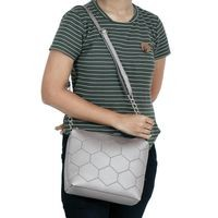 Vivinkaa Metallic Faux Leather Sling Bag