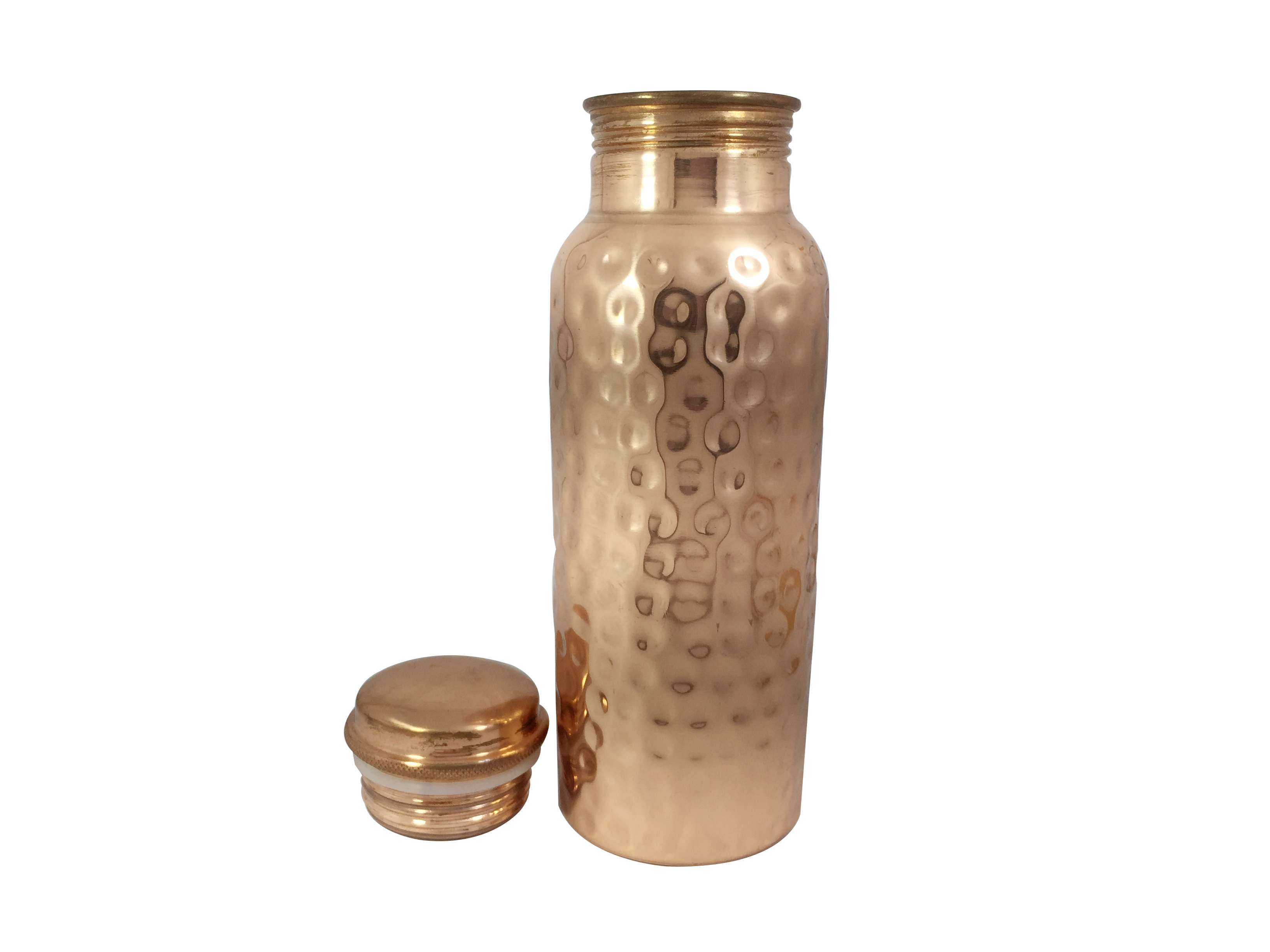 Copper Diamond Bottle 750ml   - Copper Diamond Bottle 750ml