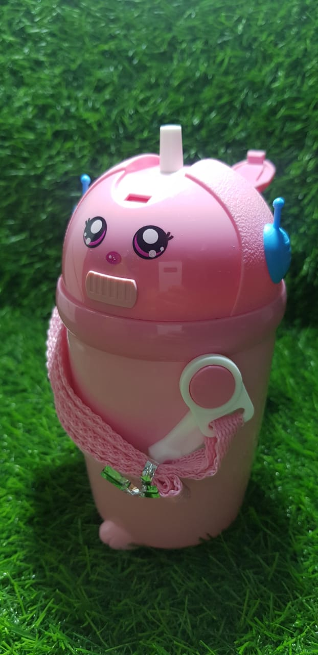 Health Mechanic Baby Sipper Bottle,,Capacity 480 ml(Pack of 1) - Pink