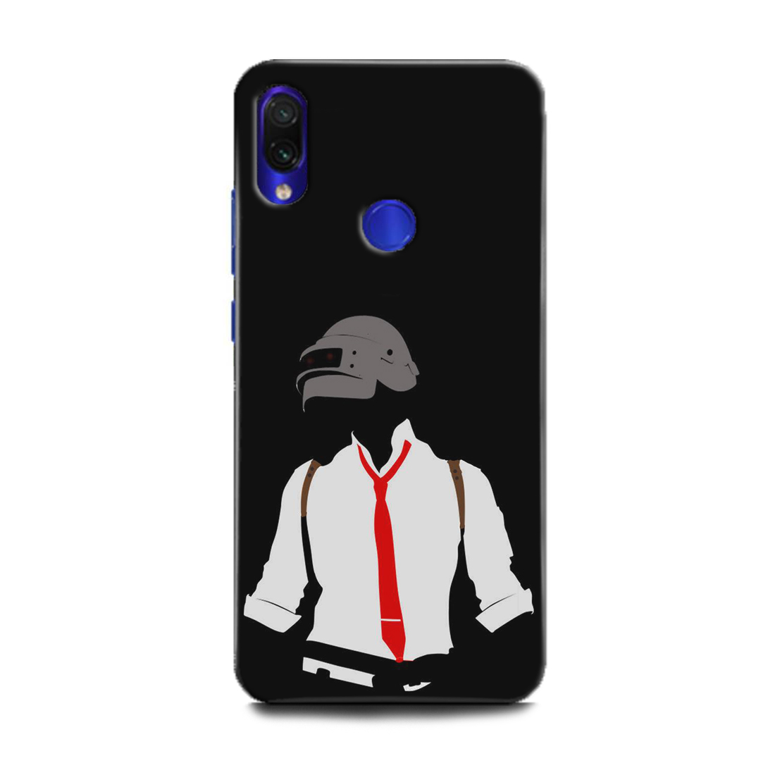 INDICRAFT Mobile Back Cover For Mi Redmi Note 7s / Hard Case (Pubg, Game, Jogos, Back, White, MZB7742IN) (AB-RedmiNote7s-0522)