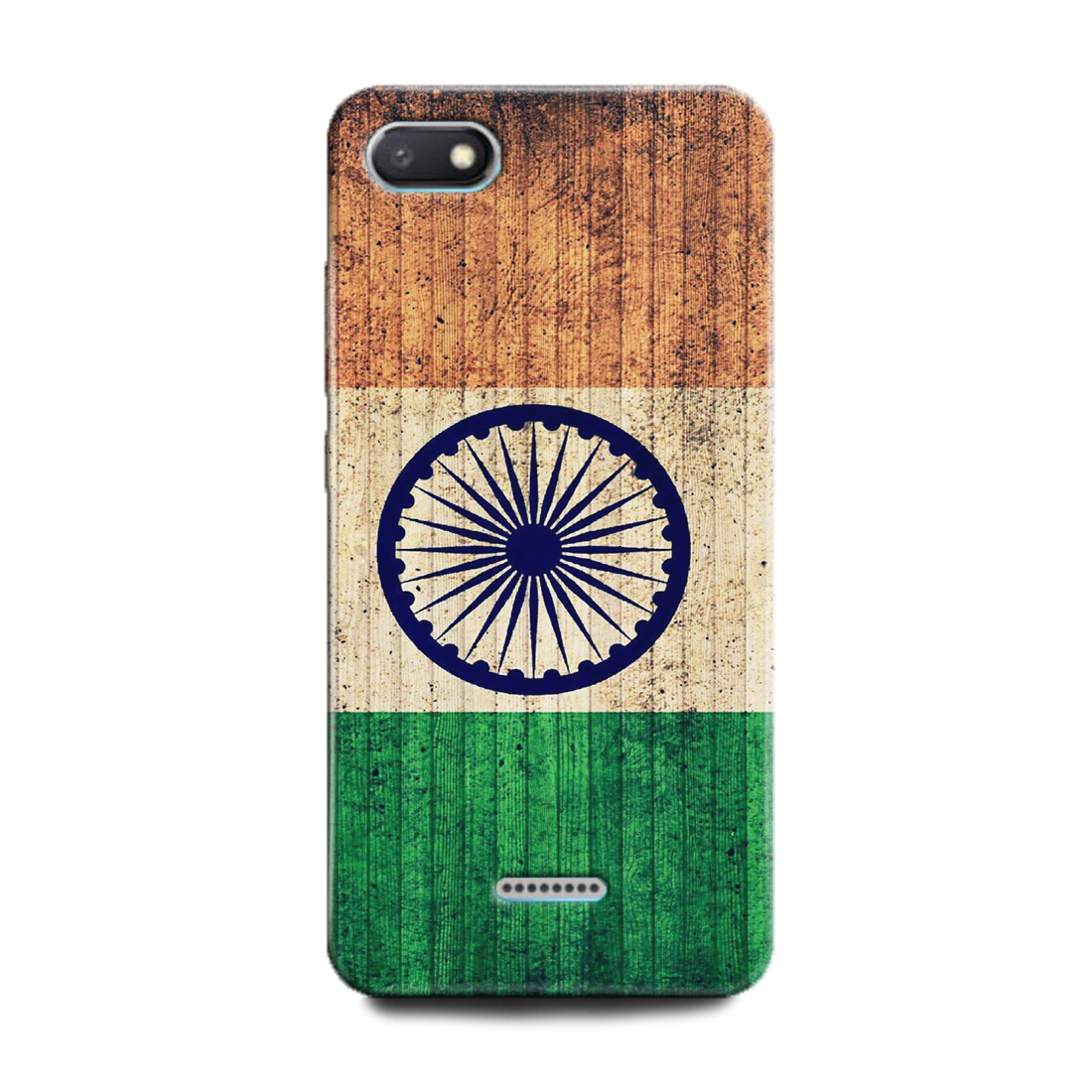 INDICRAFT Mobile Back Cover For Mi Redmi 6A(India, Indian Flag, Flag, I Love India) (AB-Redmi6A-0394)