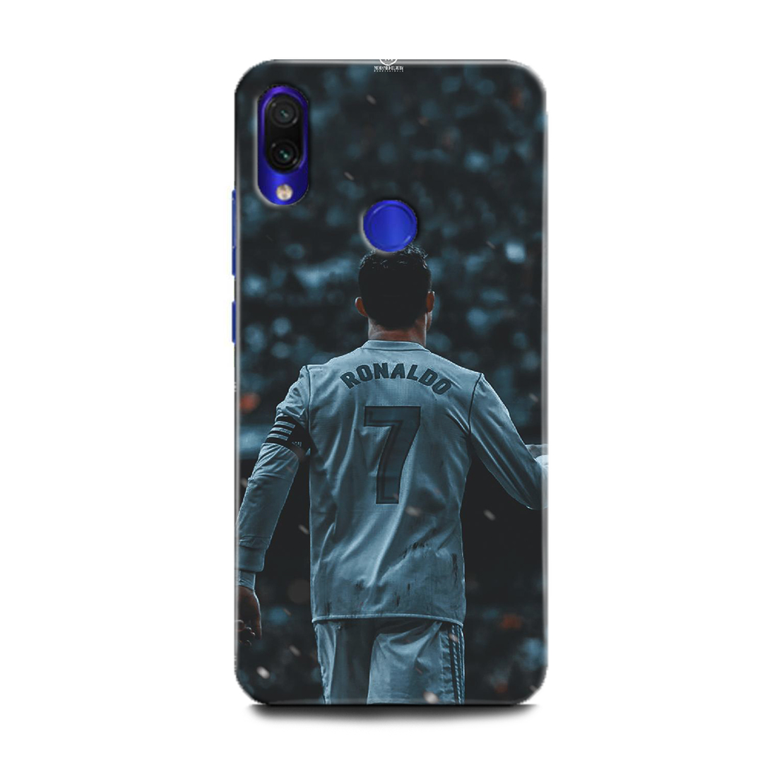 INDICRAFT Mobile Back Cover For Mi Redmi Y3 / Hard Case (Cristiano Ronaldo, Ronaldo 7, CR-7, Real Madrid, Football, Sports, M1810F6I) (AB-RedmiY3-0194)