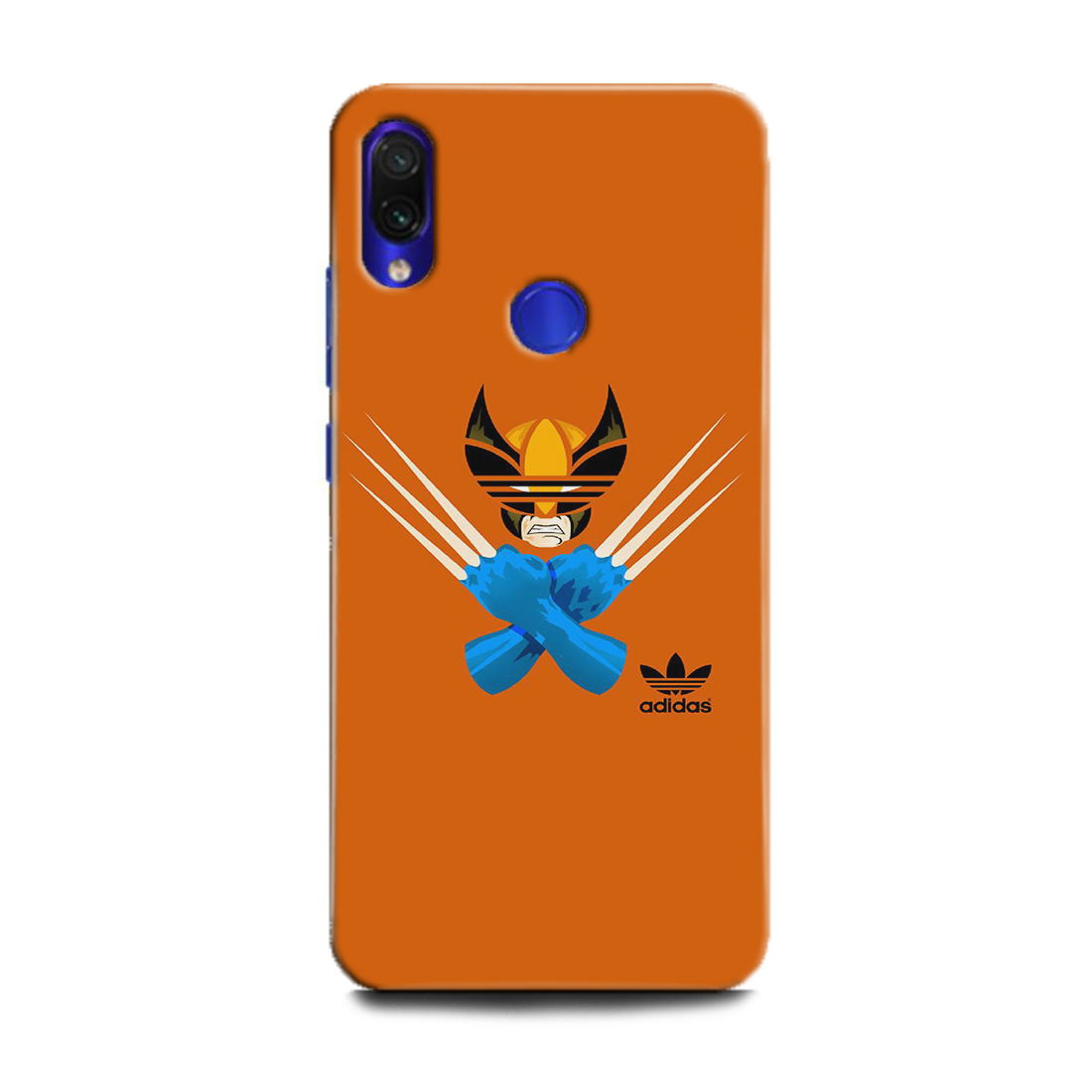 INDICRAFT Mobile Back Cover For Mi Redmi Note 7s / Hard Case (x man, art, Addidas art, Addidas , Logon, Wolverian, MZB7742IN) (AB-RedmiNote7s-0120)