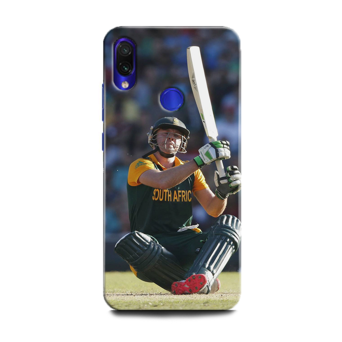 INDICRAFT Mobile Back Cover For Mi Redmi Note 7 / Hard Case (AB de Villiers, Cricket, Batsman, Sports, Cricketer, Player, MZB7266IN) (AB-RedmiNote7-0637)