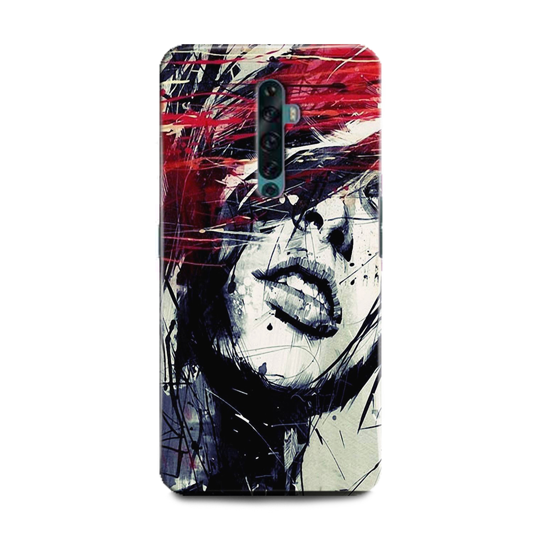 INDICRAFT Mobile Back Cover For Oppo A9 2020 / CPH1937 Hard Case (God of War, Game, Xbox, Playstation, Kartos) (AB-OppoA92020-0699)