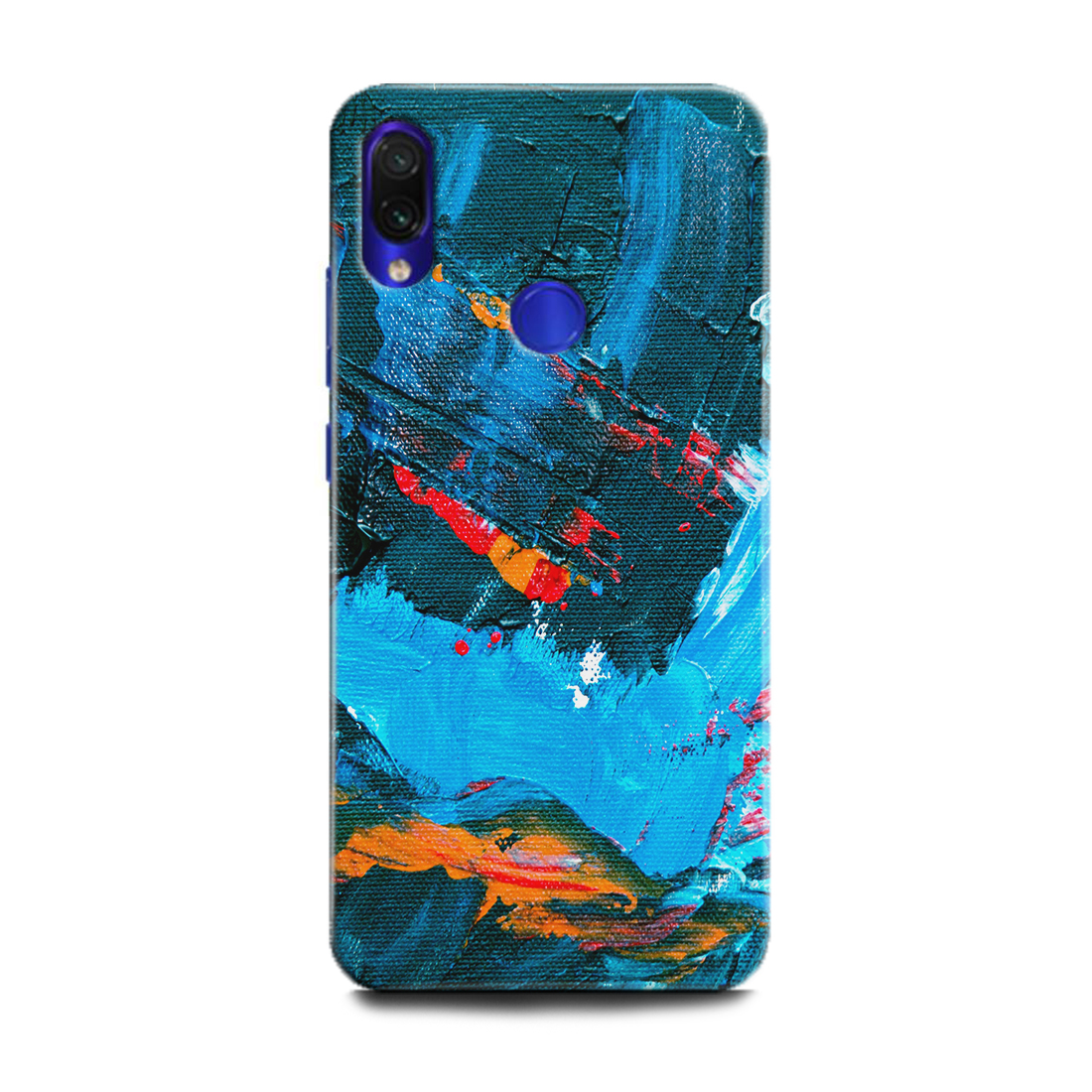 INDICRAFT Mobile Back Cover For Mi Redmi Note 7 Pro / Hard Case (Painting, Art, Picture, Abstract, Texture, Colourfull, Colours, MZB7464IN) (AB-Note7Pro-0677)