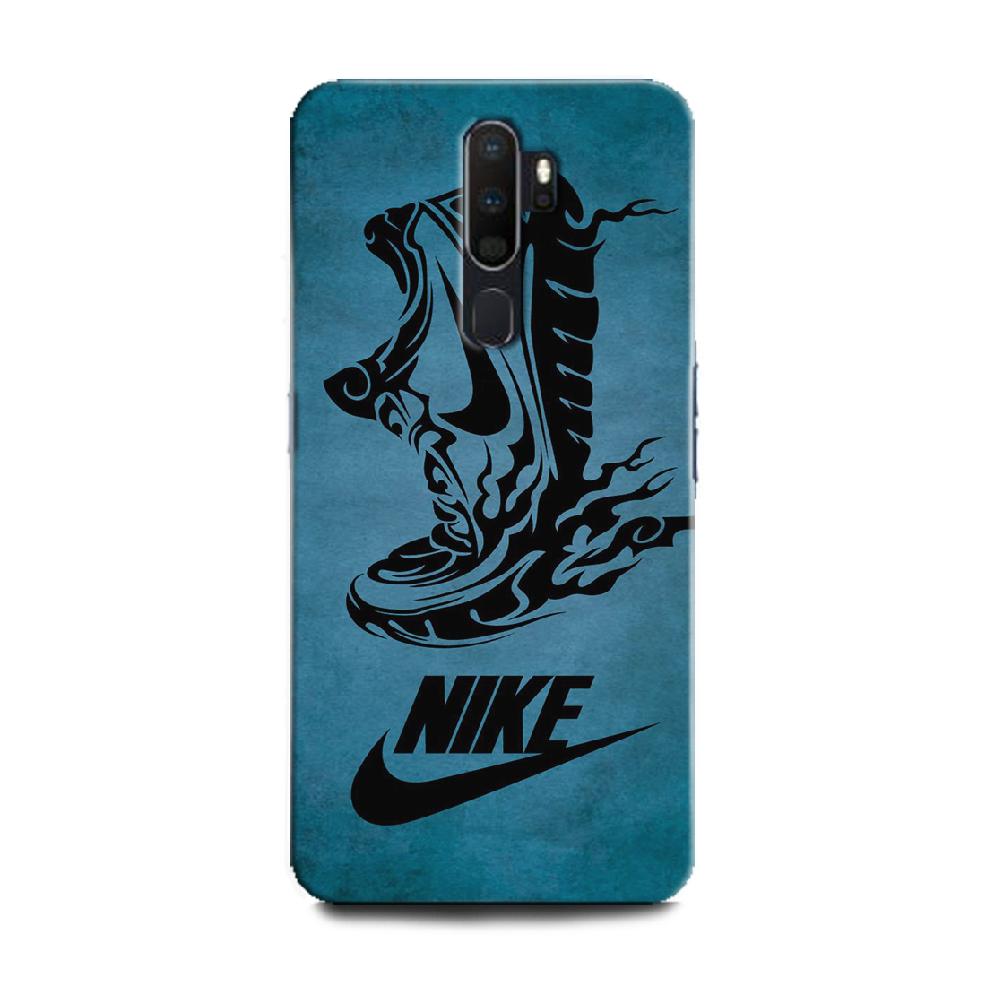 INDICRAFT Mobile Back Cover For Oppo A5 2020 / CPH1931 Hard Case (Nike, Nike Sneakers, Nike logo, Nike Shoes) (AB-OppoA52020-0137)