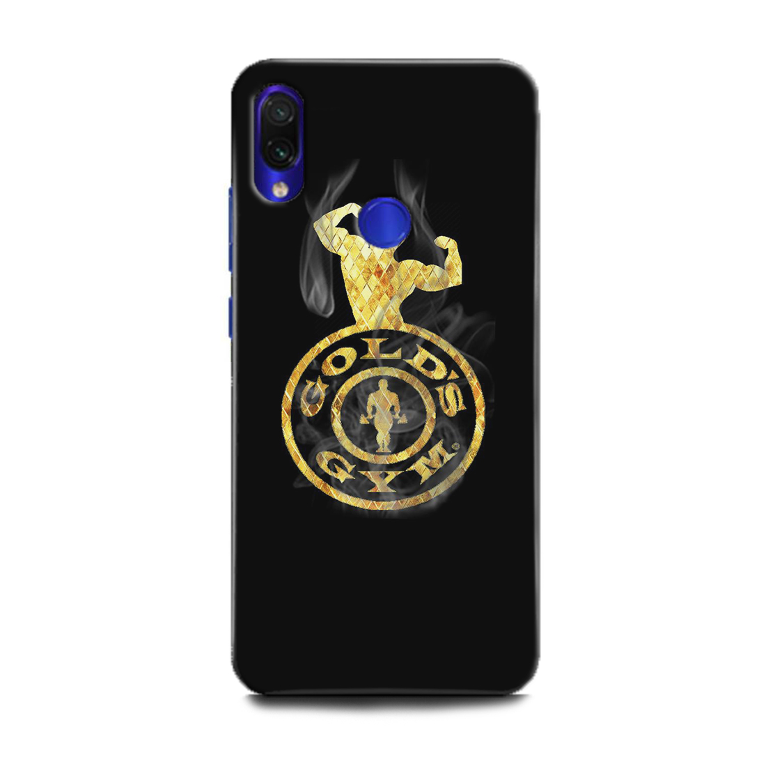 INDICRAFT Mobile Back Cover For Mi Redmi Note 7 Pro / Hard Case (GYM, Gold's Gym, Body Fit gym, Fitness, GYM Workout, Sports, MZB7464IN) (AB-Note7Pro-0196)