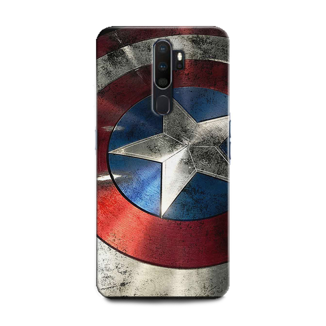 INDICRAFT Mobile Back Cover For Vivo V17 Pro / Vivo 1909 Hard Case (Captain America, Avenger, Captain America Shield, Marvel)