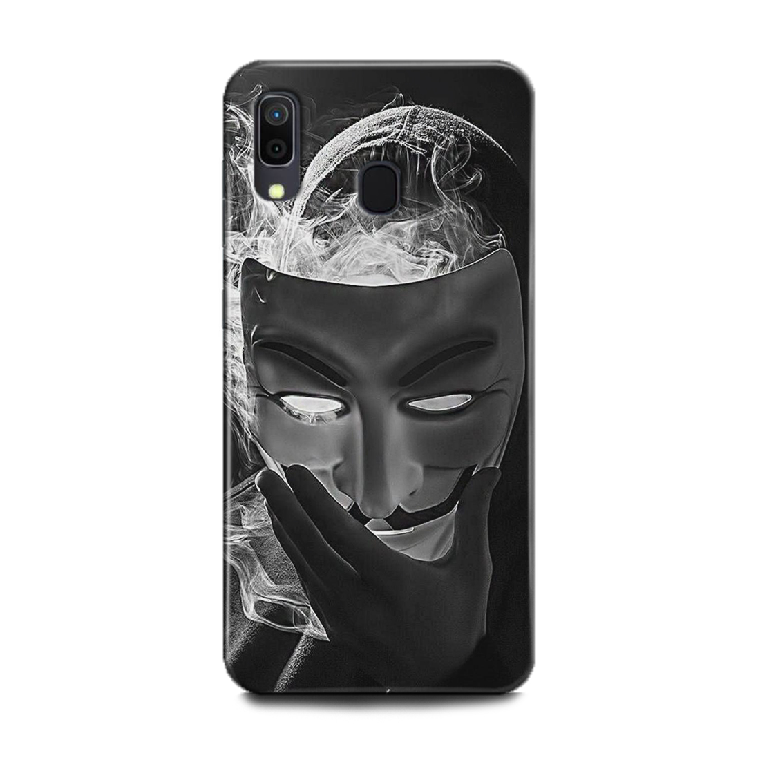 INDICRAFT Mobile Back Cover For Samsung Galaxy M10s Hard Case (Anonymous Blade, Joker, Hacker, V For Vandata, M10s) (AB-GalaxyM10s-0077)