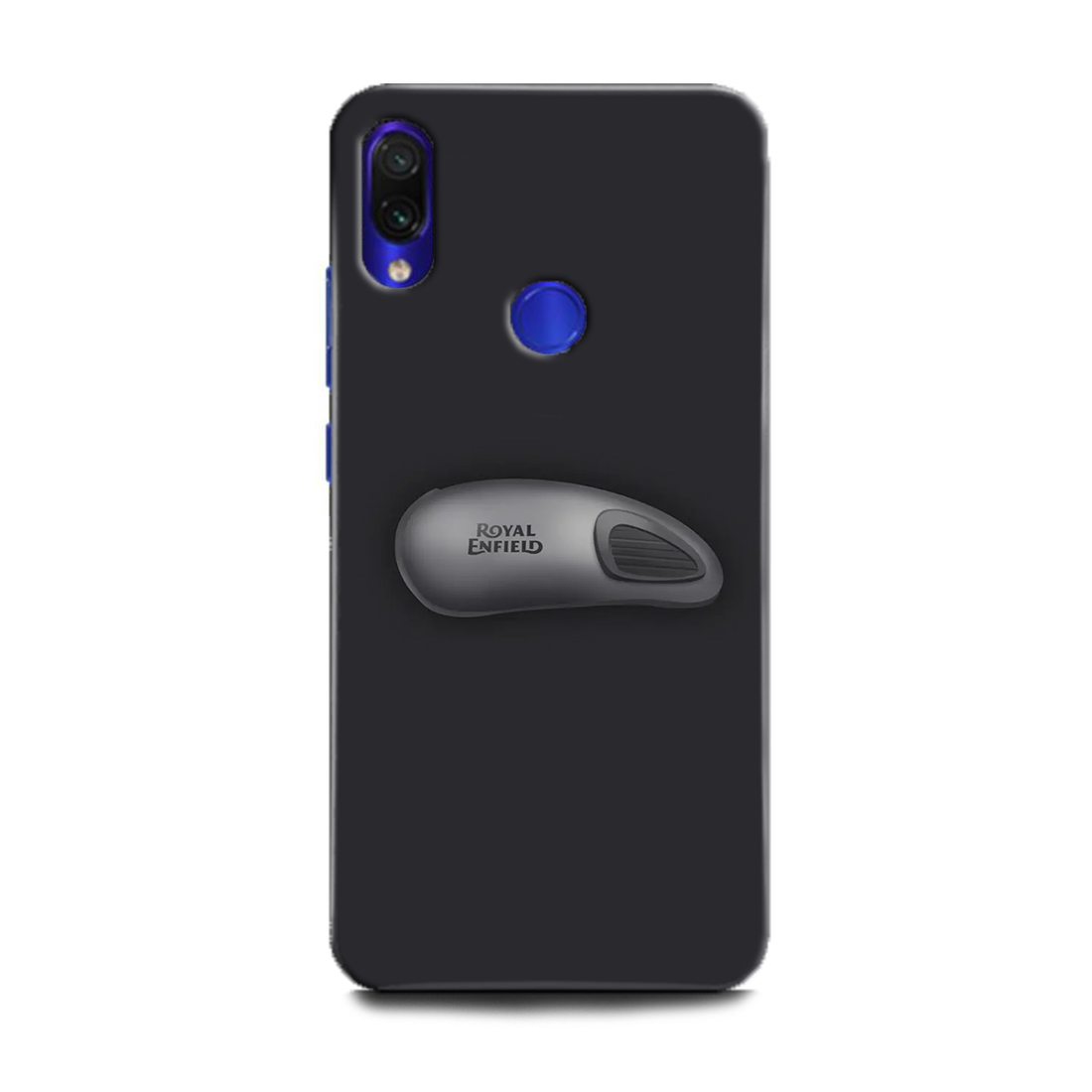 INDICRAFT Mobile Back Cover For Mi Redmi Note 7s / Hard Case (Bike, Bullet, Royal Enfield, Enfield, Grey, Super Bike, MZB7742IN) (AB-RedmiNote7s-0799)