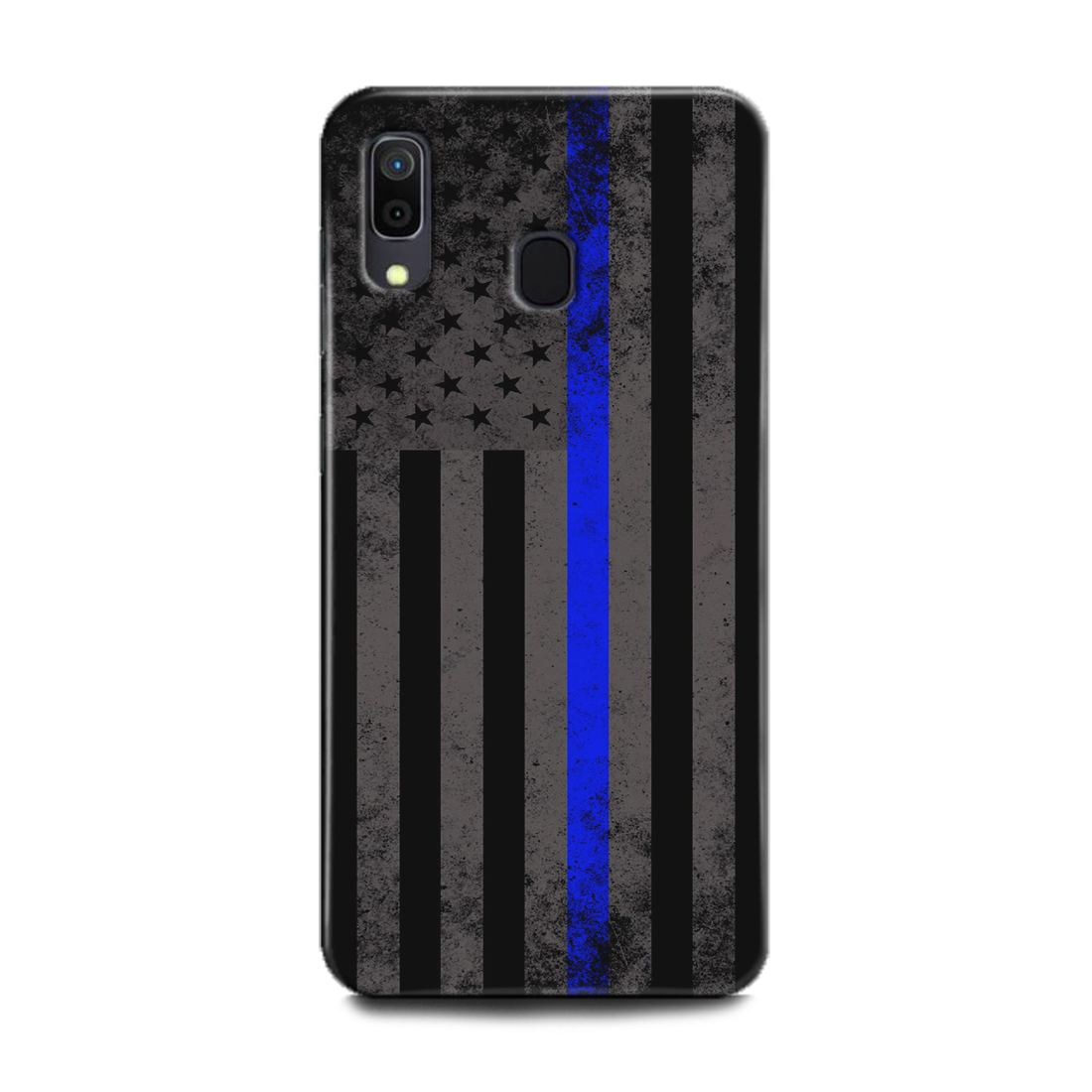 INDICRAFT Mobile Back Cover For Samsung Galaxy A20 Hard Case (Usa, American Flag, United States, Union Dark, A20) (AB-GalaxyA20-0794)