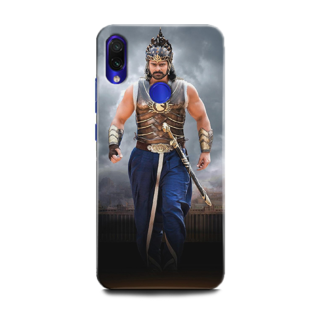 INDICRAFT Mobile Back Cover For Mi Redmi 7 / Hard Case (Bahubali, Bollywood, Prabhas, Tollywood) - AB-Redmi7-0026