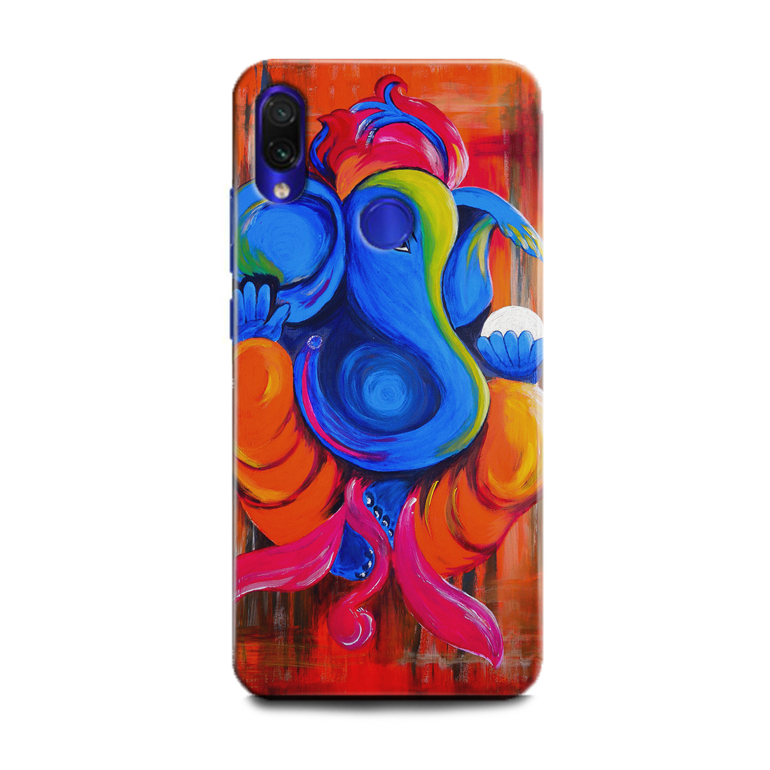 INDICRAFT Mobile Back Cover For Mi Redmi Note 7 Pro / Hard Case (Ganesh Ji, Ganpatti, GOD, Lord Ganesha, Bhagwan, GOD of GOD, Temple, MZB7464IN) (AB-Note7Pro-0727)