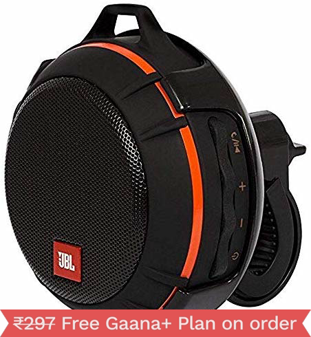 JBL Wind Portable Bluetooth Speaker with FM Radio and Supports Micro SD Card ( Black)