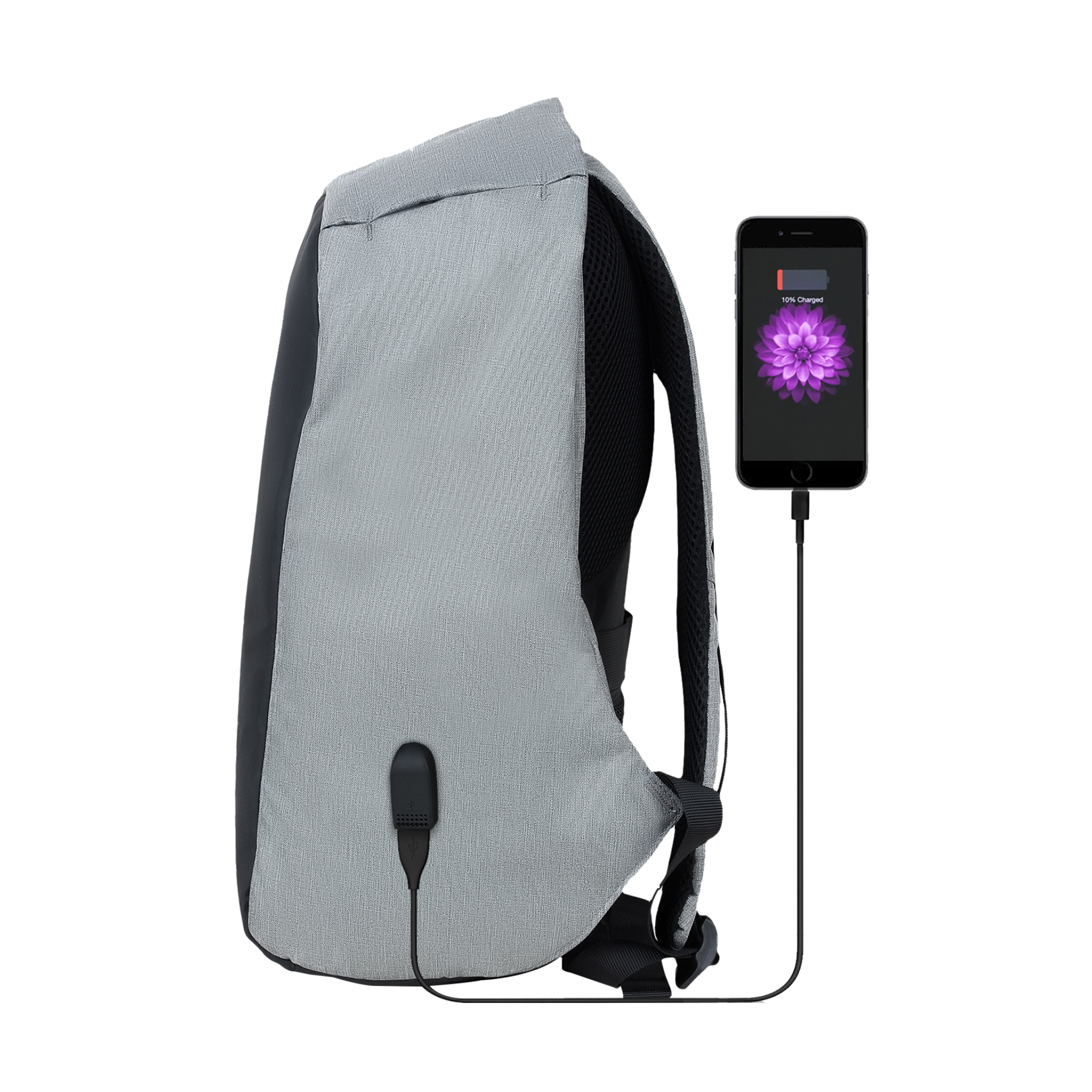 Trovo Anti Theft Laptop Backpack Champ Lite TLB-80 - Grey