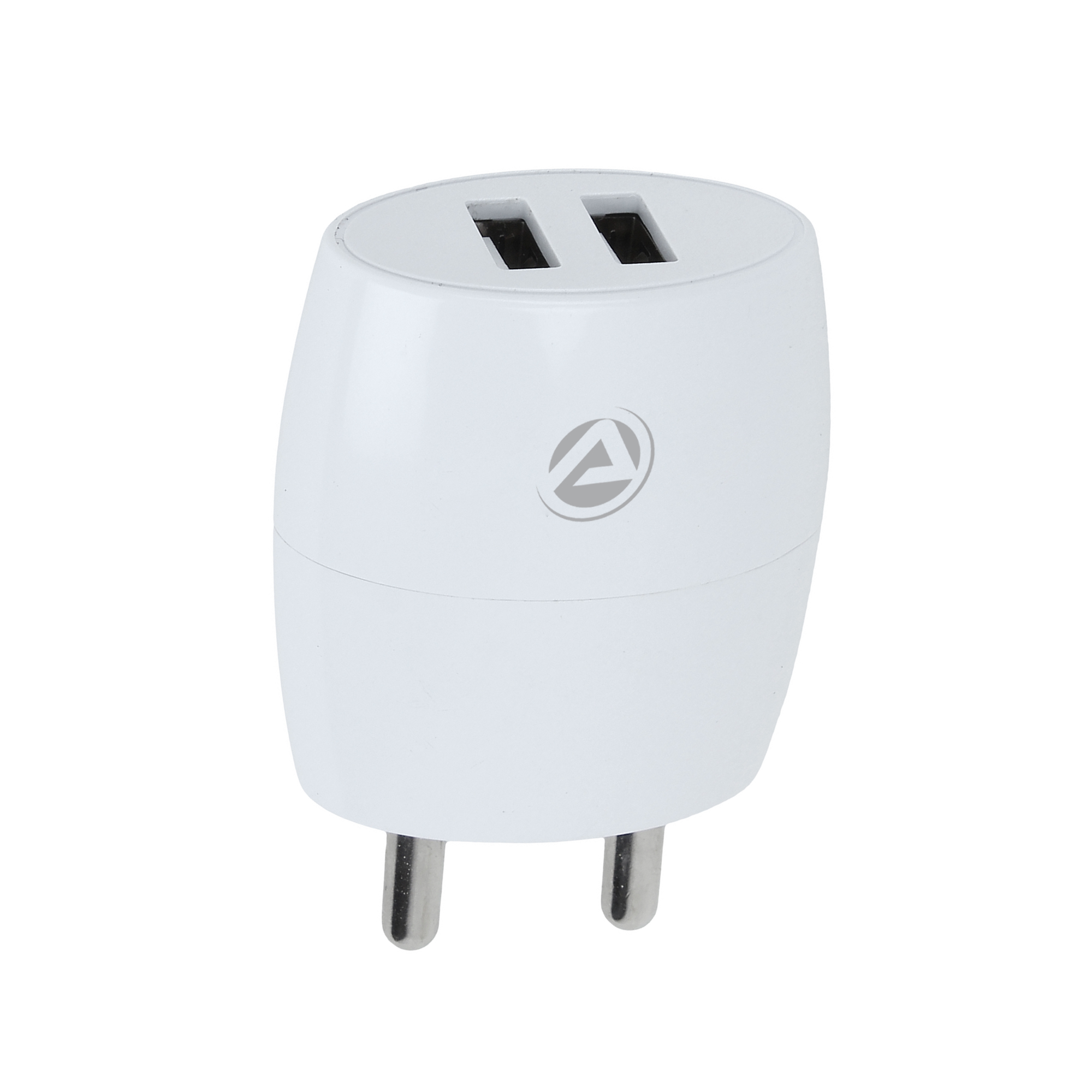 ARU AR-245 2.1 Amp Dual Port Fast Charger with Charge & Sync USB Cable
