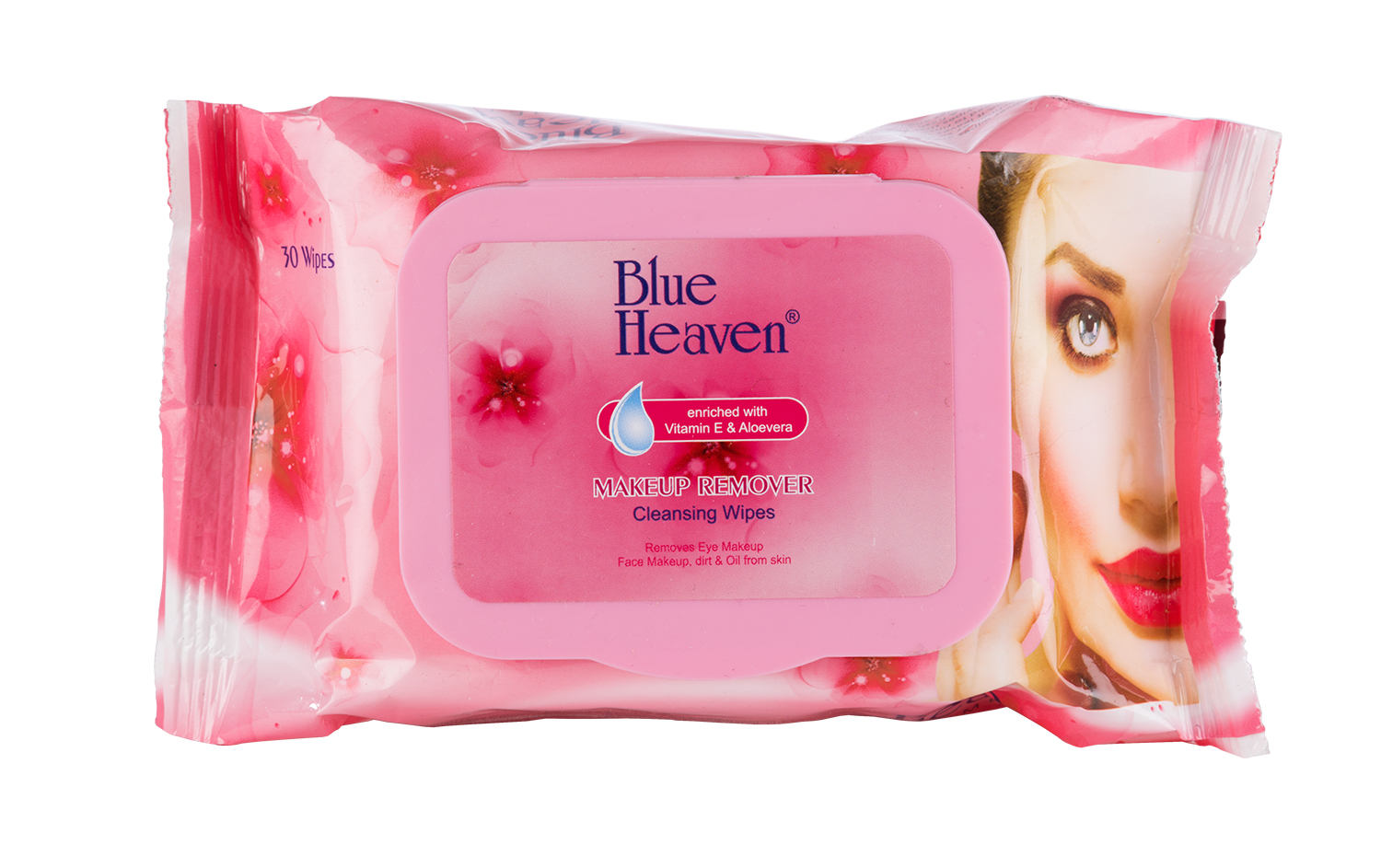 Blue Heaven Makeup Remover & Cleansing Wipes (Pack of 2)