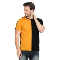 Glito Multicolor Round Neck Cotton Men T-Shirts & Polos