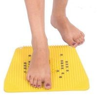 Acupressure Health Care Products Plastic Acp Power Mat Iv 2000 (Yellow, 30x30 cm)