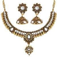 Mahi Multi Colored Alloy Necklace Set For Women