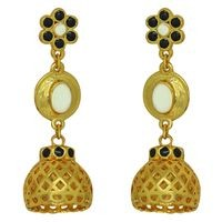 Mahi Multi Colored Alloy Jhumki For Women