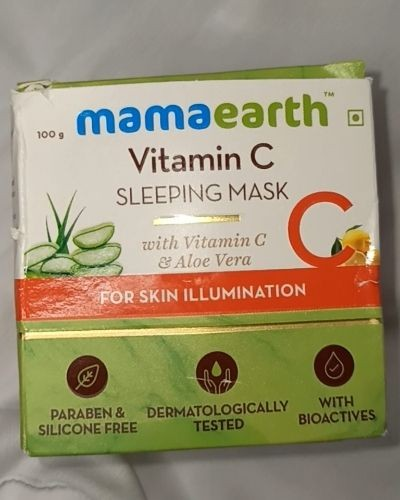All about Mamaearth Sleeping Mask