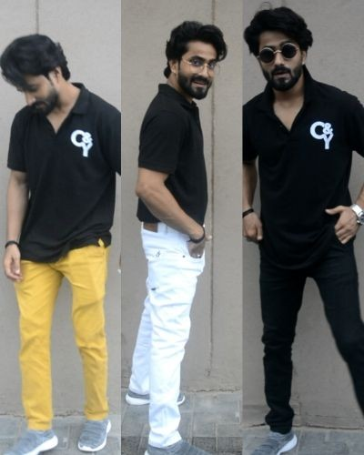 Style your Black Polo with Different Bottomwear