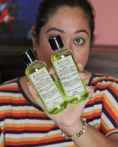 Khadi Face and body wash to keep skin clean and soft