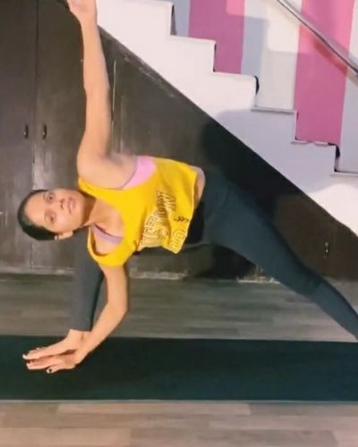 Yoga weight loss challenge session 9
