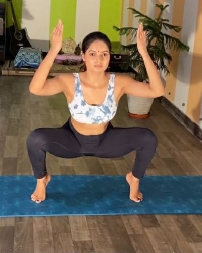 Yoga weight loss challenge session 11